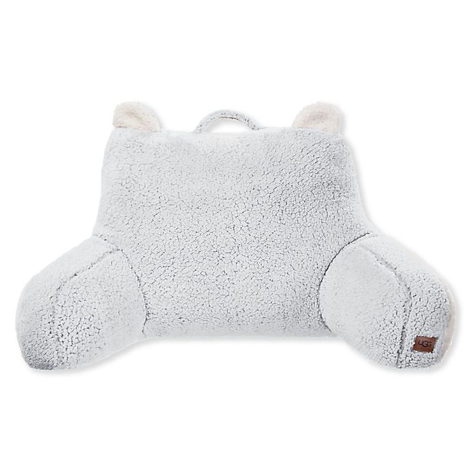Alternate image 1 for Ugg® Kids Casey Frosted Sherpa Backrest in Grey
