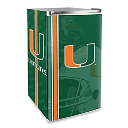 University of Miami Licensed Counter Height Refrigerator