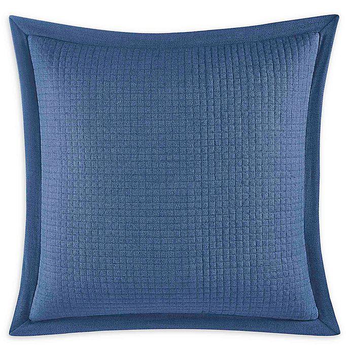 Alternate image 1 for Nautica® Norcross European Pillow Sham in Navy