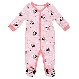 Disney Baby® Minnie Mouse Footie in Pink