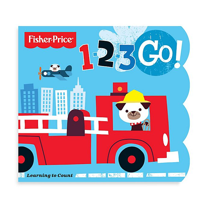 25e82987f3a Fisher-Price® 1-2-3 Go! Counting Book