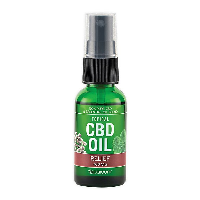 Alternate image 1 for SpaRoom® Multi-Purpose CBD Oil Topical Spray