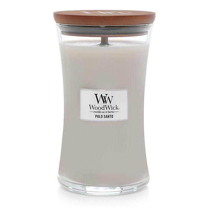 Alternate image 1 for WoodWick® Palo Santo Large Hourglass Jar Candle