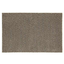 Mohawk Home® Pinstripe 2-Foot 6-Inch x 3-Foot 10-Inch Washable Rug in Pecan