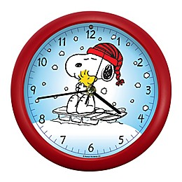 PEANUTS® 8-inch Snoopy Sound Clock
