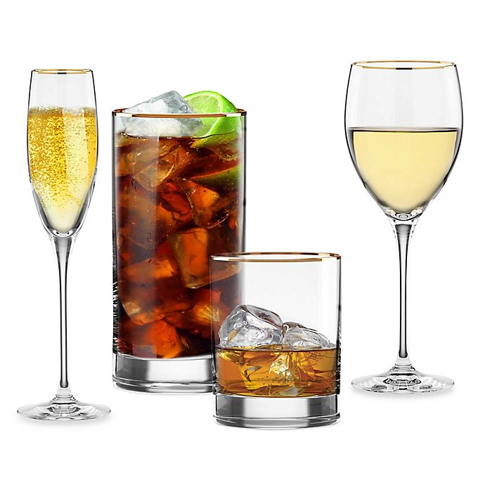 Alternate image 1 for Lenox® Timeless Gold Wine & Bar Collection