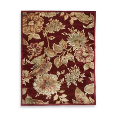 Toscana Rug In Red Bed Bath Amp Beyond