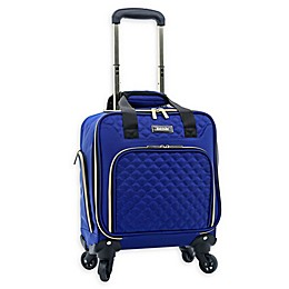 Kensie Aurea 16-Inch Softside Spinner Underseat Luggage in Cobalt Blue
