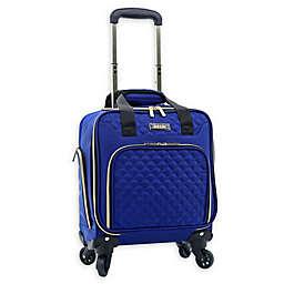 Kensie Aurea 16-Inch Softside Spinner Underseat Luggage in Cobalt Blue
