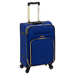 Kensie Aurea 20-Inch Softside Spinner Carry On Luggage in Cobalt Blue