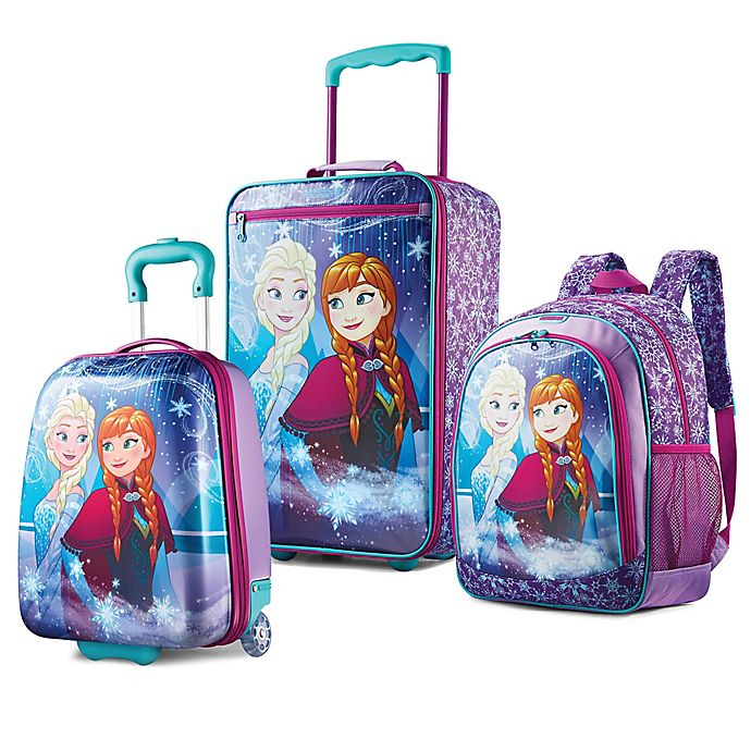 Alternate image 1 for American Tourister® Disney® Frozen Luggage Collection
