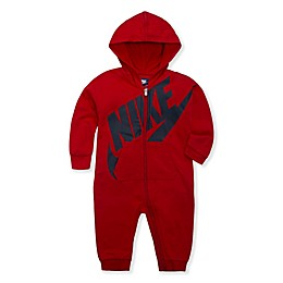 Nike® Play All Day Hooded Coverall in University Red