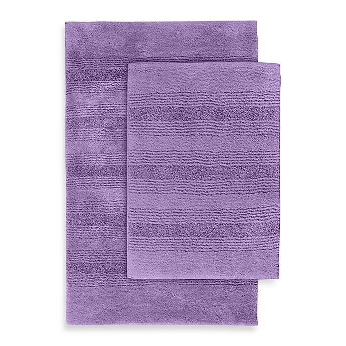 Purple Bath Rug Sets: Buy Essense 2-Piece Bath Rug Set In Purple From Bed Bath