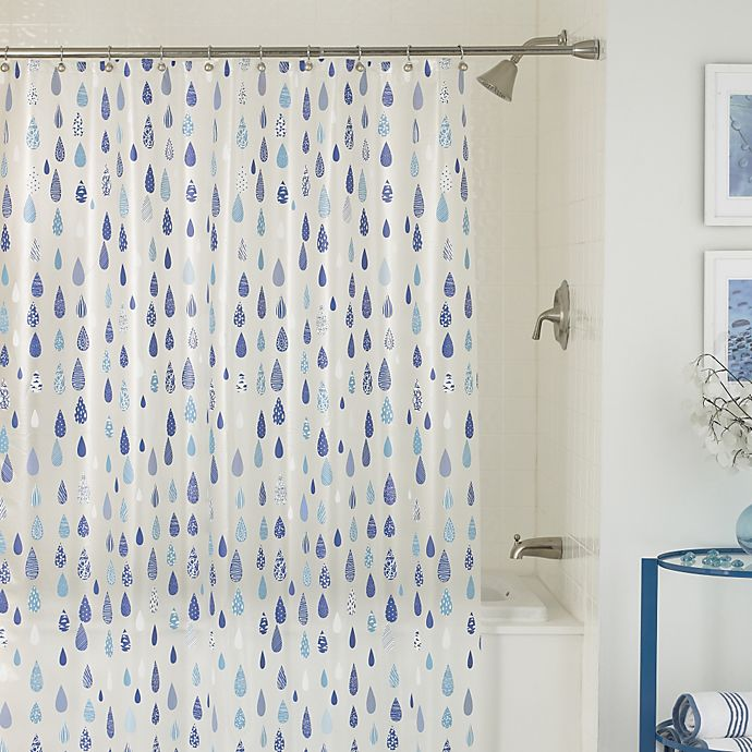 Alternate image 1 for April Showers 70-Inch x 72-Inch Shower Curtain