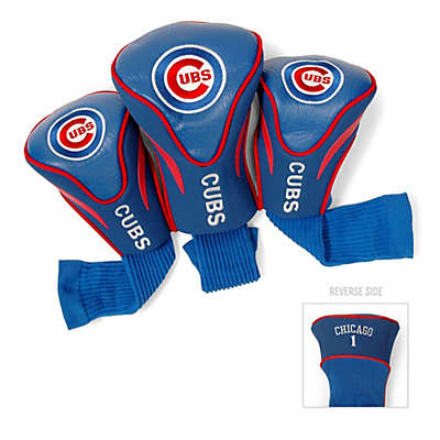Chicago Cubs 3-Pack Contoured Golf Club Headcovers
