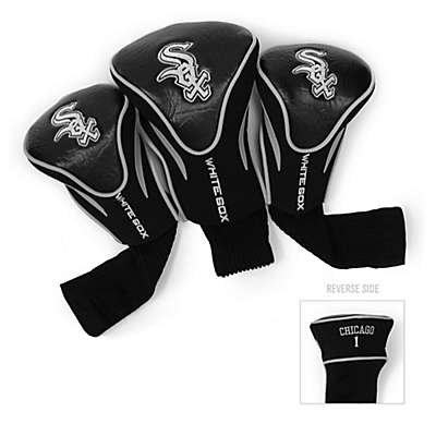 Chicago White Sox 3-Pack Contour Golf Club Headcovers
