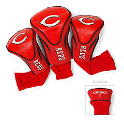 Cincinnati Reds 3-Pack Contour Golf Club Headcovers
