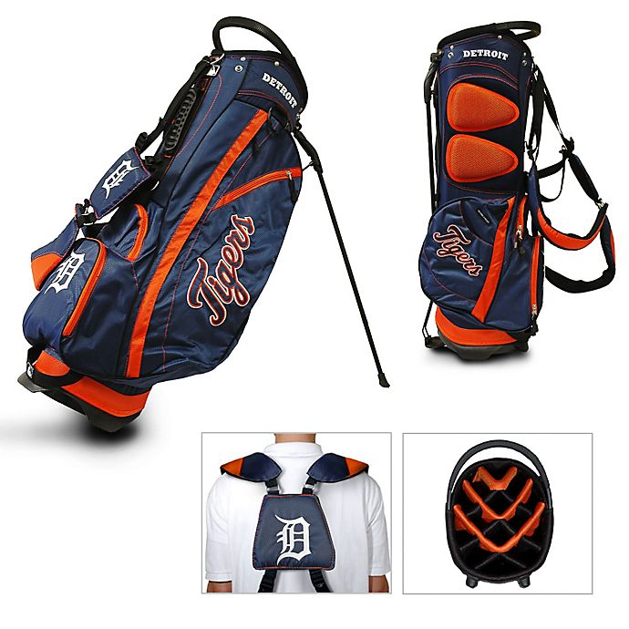 Alternate image 1 for Detroit Tigers Fairway Stand Golf Bag