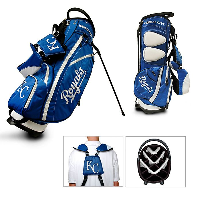Alternate image 1 for Kansas City Royals Fairway Stand Golf Bag