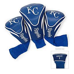 Kansas City Royals 3-Pack Contour Golf Club Headcovers