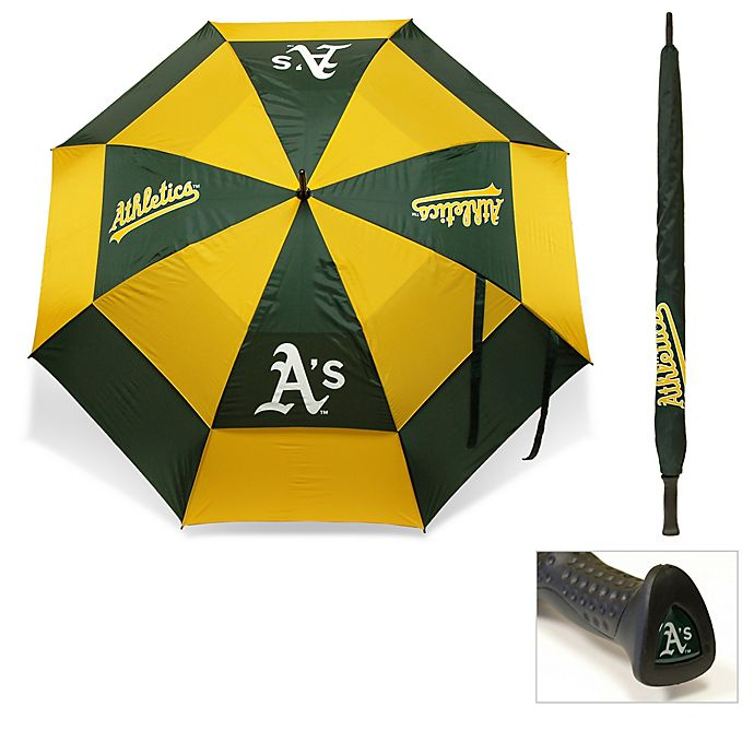 Alternate image 1 for MLB Oakland Athletics Golf Umbrella