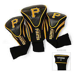 MLB Pittsburgh Pirates 3-Pack Contour Golf Club Headcovers