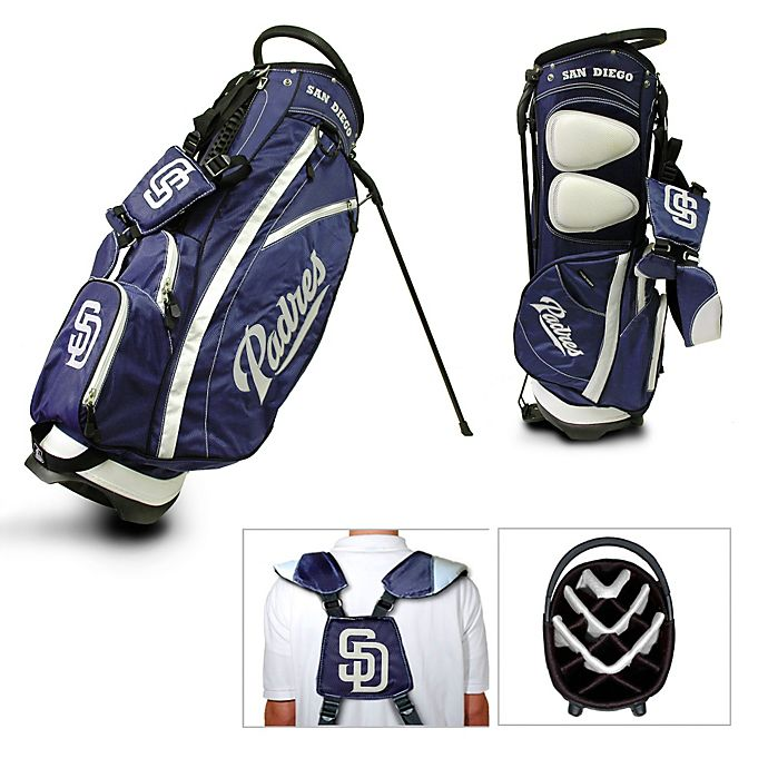 Alternate image 1 for MLB San Diego Padres Fairway Stand Golf Bag