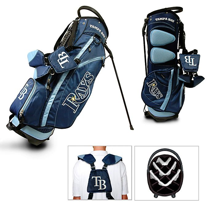 Alternate image 1 for MLB Tampa Bay Rays Fairway Stand Golf Bag