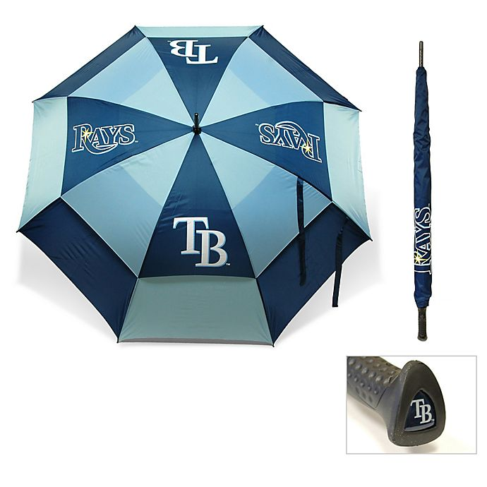 Alternate image 1 for MLB Tampa Bay Rays Golf Umbrella