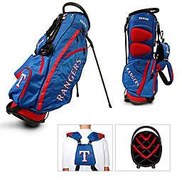 MLB Texas Rangers Fairway Stand Golf Bag