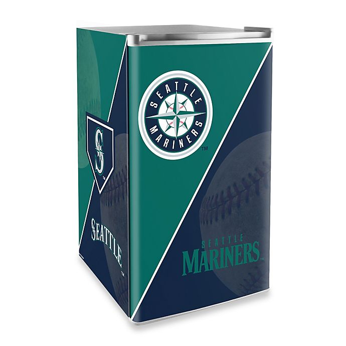 Alternate image 1 for Seattle Mariners Licensed Counter Height Refrigerator