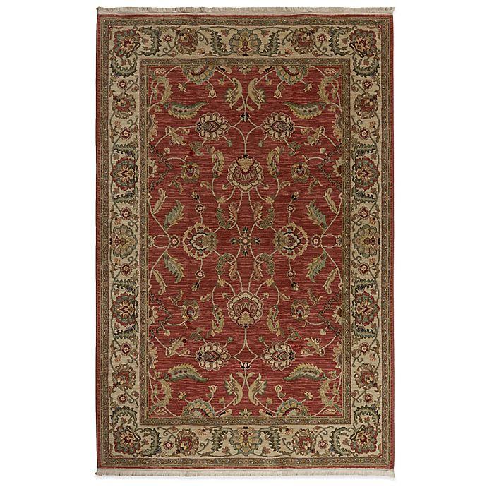 Alternate image 1 for Karastan Ashara Agra Rug in Red