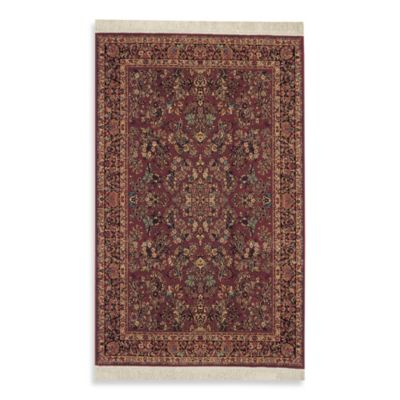 Karastan Original Red Sarouk Rug Bed Bath Amp Beyond