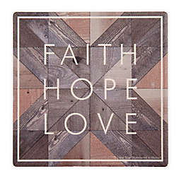 "Thirstystone® ""Faith, Hope, Love"" Coasters (Set of 4)"