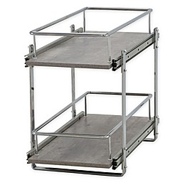 Household Essentials® Glidez 2-Tier Kitchen Cabinet Organizer
