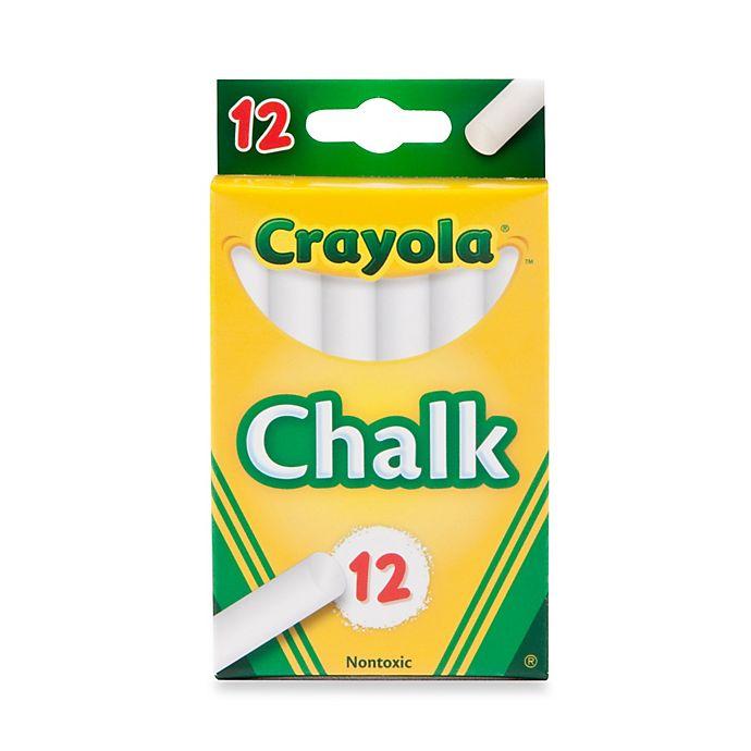 Alternate image 1 for Crayola® 12-Piece Children's Chalk