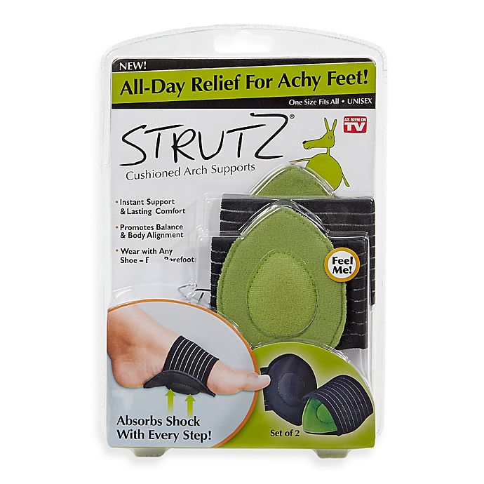 Strutz Cushioned Arch Supports One Pair Bed Bath Beyond
