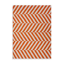 Jaipur Maroc Salma Rug in Orange