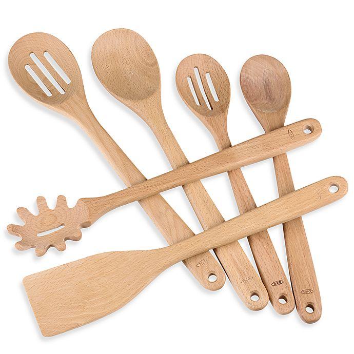 Alternate image 1 for OXO Good Grips® Wooden Utensils
