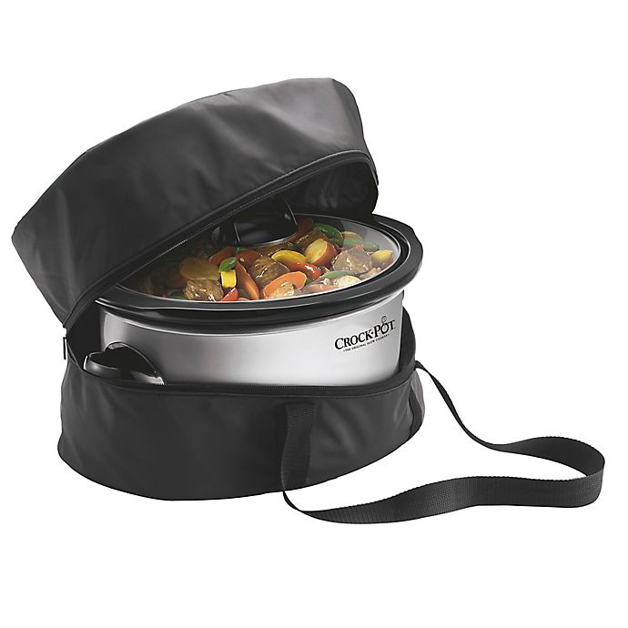 Alternate image 1 for Crock-Pot® Travel Bag for 4-Quart to 7-Quart Slow Cookers
