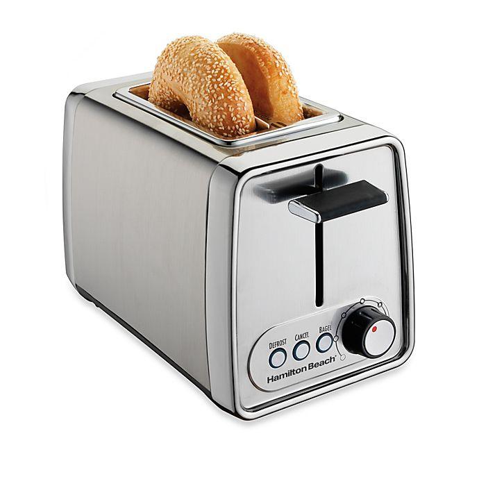 Alternate image 1 for Hamilton Beach® 2-Slice Modern Chrome Toaster