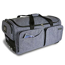 Mavii 28-Inch Wheeled Costume Rack Duffel Bag in Grey