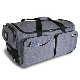 Mavii 28-Inch Wheeled Costume Rack Duffel Bag in Grey