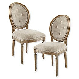 Madison Park Lexi Dining Chairs in Taupe (Set of 2)