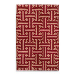 Surya Alachua Rug in Brick/Gold