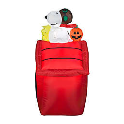 Peanuts™ Flying Ace Snoopy 42-Inch Airblown® Halloween Lawn Inflatable