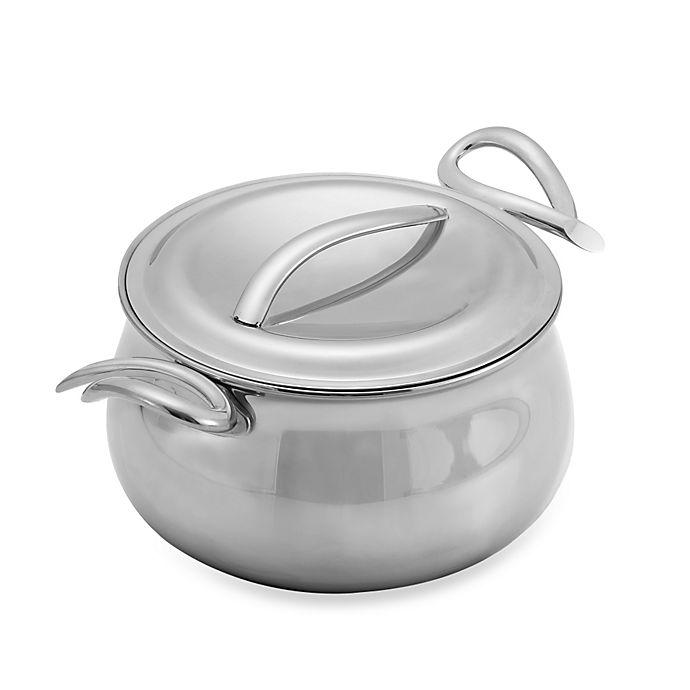 Alternate image 1 for Nambe Gourmet 3-Quart Sauce Pan with Lid