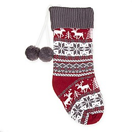 Bee & Willow™ Home Knit Fair Isle Holiday Stocking