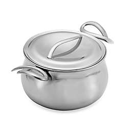 Nambe Gourmet 5-Quart Stock Pot with Lid