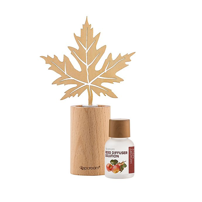 Alternate image 1 for Sparoom® 0.68 oz. Hickory Apple Mini Wooden Reed Diffuser